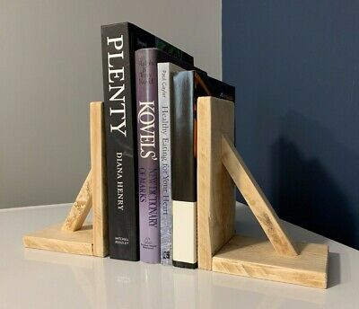 Handmade rustic bookends,  wooden bookends,  reclaimed wood, farmhouse bookends