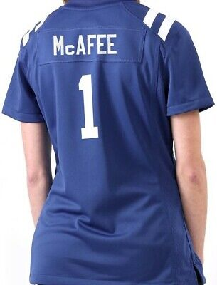size 40 de34f b5e6d NEW NIKE PAT McAfee On Field NFL Indianapolis Colts Jersey Womens Sz Large  $100