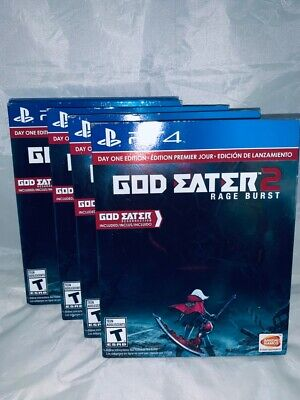 God Eater 2 Rage Burst  PlayStation 4 Day One Edition BRAND NEW FACTORY  SEALED