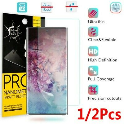 10D Hydrogel Film Full Screen Protector For Samsung Galaxy Note 10 Plus S9 S10+