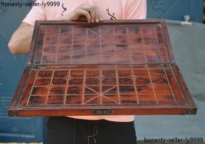 Old chinese huanghuali wood Weiqi Of Go Chessboard Chess Checkerboard Tables