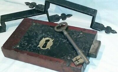 Antique Door Lock Beautiful Timber Metal And Brass Fixtures Timber Finish Key Pl
