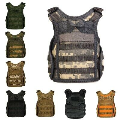 Military Molle Mini Miniature Vest Tactical Premium Beer Hunting Vests Beverages