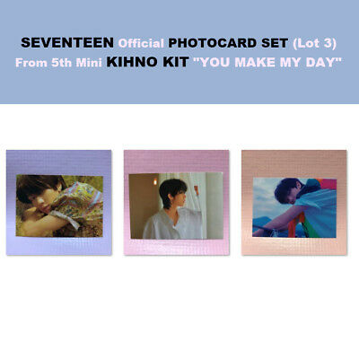 [THE 8] Seventeen Official Photocard From KIHNO Album YOU MAKE MY DAY Card Only