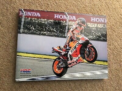 Signed Marc Marquez 2018 HRC Motogp Limited Edition Book. Stunning.
