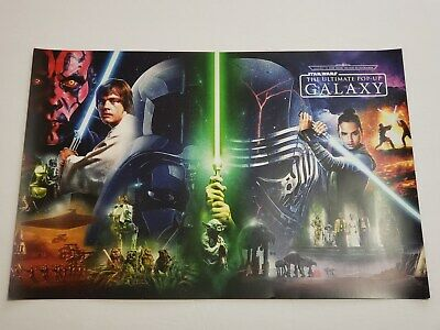SDCC 2019 Exclusive STAR WARS Galaxy Promo Poster 18x12 Swag Insight Editions