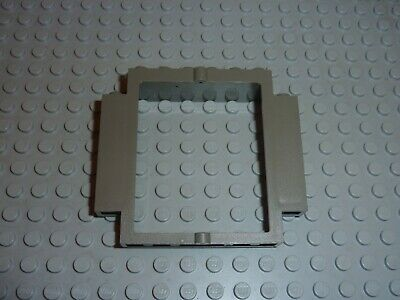 100/% LEGO 10X Trans Clear 1 x 4 x 3 Panels Wall Glass side supports Hollow studs