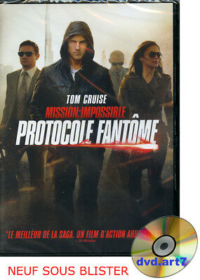 DVD : MISSION IMPOSSIBLE 4 : PROTOCOLE FANTÔME - Tom Cruise - NEUF SOUS BLISTER