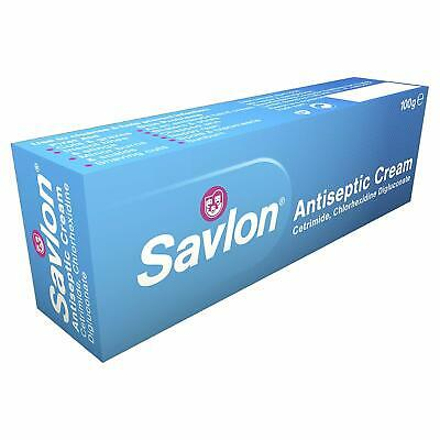 3x Savlon Antiseptic Cream 100g First Aid Cream Prevent Infection Exp Date 12/19