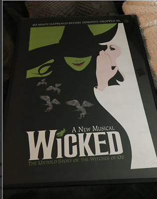Wicked The Musical *OFFICIAL BROADWAY POSTER* 24x18