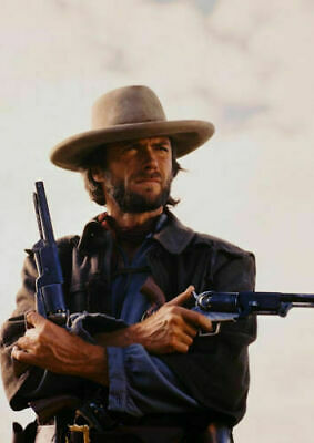 Art print poster /Canvas Clint Eastwood in The Outlaw Josey Wales