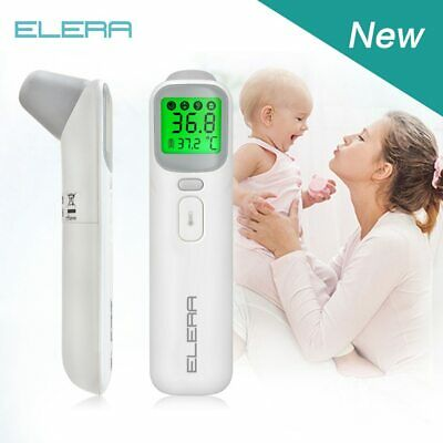 Baby Digital Thermometer Forehead Ear NonContact Body Temperature reader lcd new