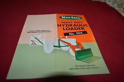 New Idea 504 Hydraulic Loaders Dealer's Brochure AMIL15