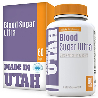 Blood Sugar Ultra, Natural Support for Healthy Blood Glucose Levels, with Vitami