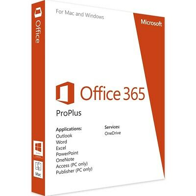 Microsoft Office 2019 Professional Plus 32/64 Bit Originale Esd Licenza