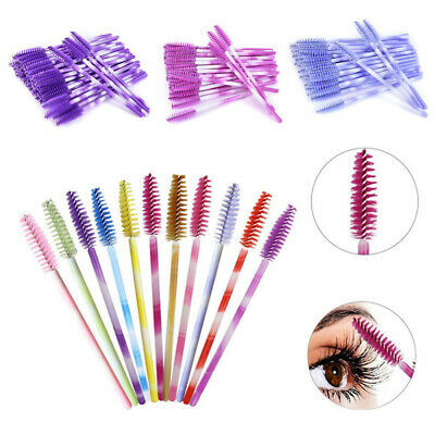 50pcs/pack Disposable Eyelash Wand Mascara Brushes Wands Eyelash Extensions