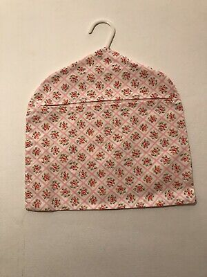 Peg Bag Handmade With Vintage Cath Kidston  Pink Rose Trellis Cotton Fabric
