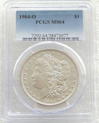 1904-O United States Morgan $1 One Dollar Silver Coin PCGS MS64 New Orleans