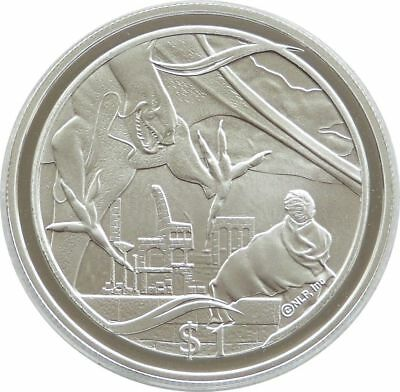 2003 New Zealand Lord of the Rings Battle Minas $1 One Dollar Silver Proof Coin