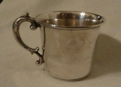 Antique Gorham Sterling Silver Gold Wash Baby Child's Cup 1973A