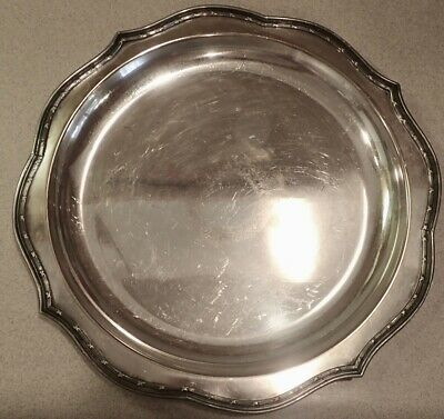 Vintage Sheffield Silver Co Tray 2263 Silverplate Hollowware          LS0497