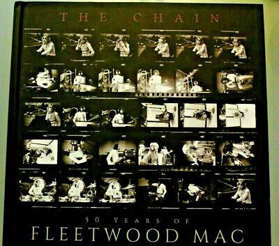 50 Years Of Fleetwood Mac - The Chain - Very Well Illustrated - Unread .