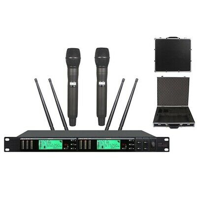 Cordless Microphone UHF Professional True Diversity For Shure Karaoke Microphone