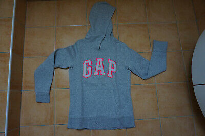 SWEAT À CAPUCHE gris fille Gap 10 11 ans EUR 5,00