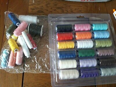 Assorted Sewing thread Some new some used