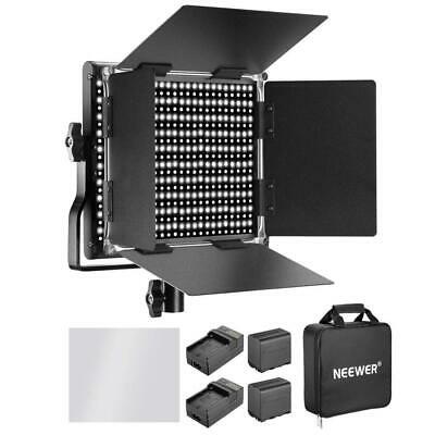 Neewer 660 LED Video Light Bicolore 3200-5600K CRI 96+Regolabile con...