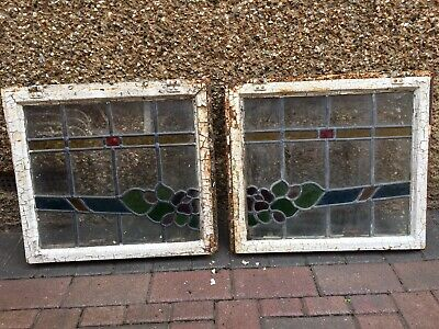 Stained Glass Windows with Metal frame
