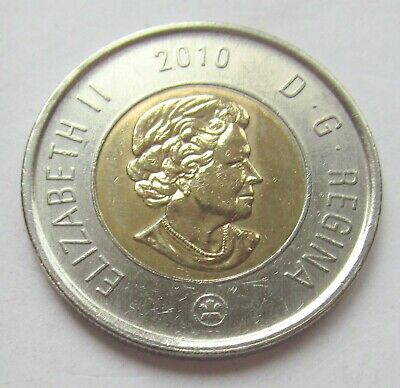 2010 CANADA 2 DOLLAR TOONIE - combined shipping