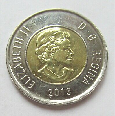 2013 CANADA  2 DOLLAR TOONIE - combined shipping