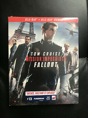 Mission Impossible Fallout Tom Cruise Blu Ray Neuf Sous Cellophane