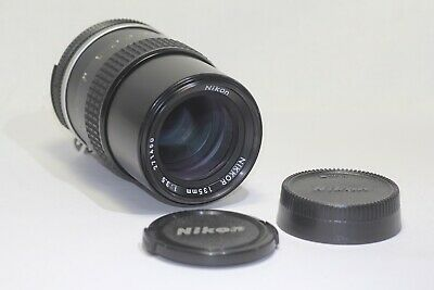 Nikon Ai NIKKOR 135mm f/3.5 MF Lens Made In Japan