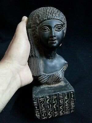 EGYPTIAN ANTIQUE ANTIQUITY Meritaten Akhenaten Daughter Statue 1356-1309 BC