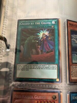 Called by the Grave	MP19-EN043	Prismatic Secret Rare	Yugioh