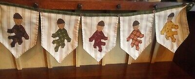 """Country/Primitive/Farmhouse-Dancing Leaves-Banner-36"""" x 8"""""""