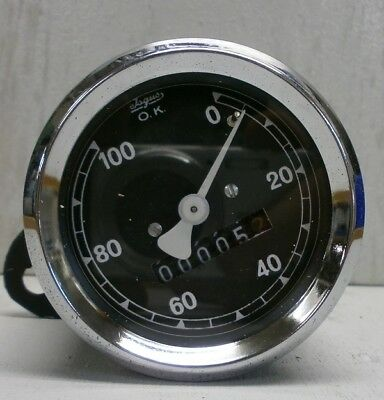 Isgus Tacho, 60mm, externer Anbautacho, Isgus speedometer, external attachment