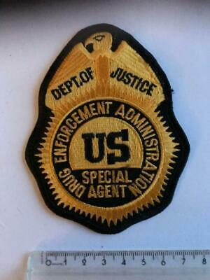 US DEA SPECIAL Agent Federal PVC rubber 3D badge Marshal