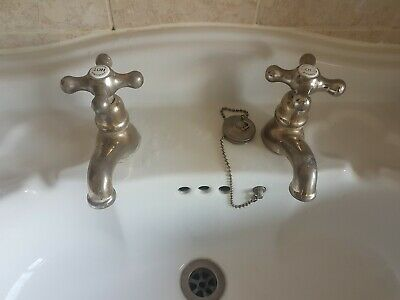 Vintage Brass Sink Taps