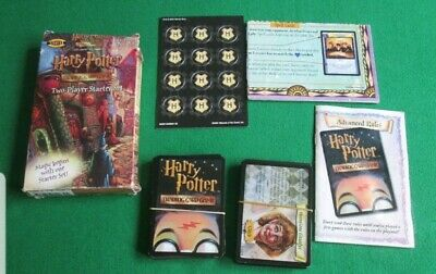 Harry Potter Trading Card Game Two Player Starter Set - 2001 Woc - Boxed