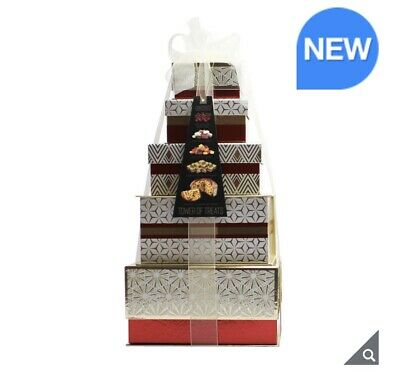 Festive Tower of Treats in Celeberation sweats christmas gift