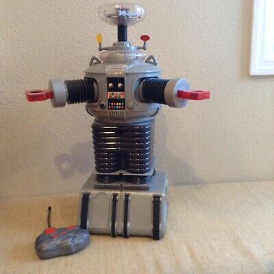 Lost in Space Classic Radio Control 2' B9 Robot 1998 in Box & Tested