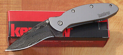 Kershaw Ken Onion Scallion Damascus Speedsafe Assisted Pocket Knife 1620Dam # 1