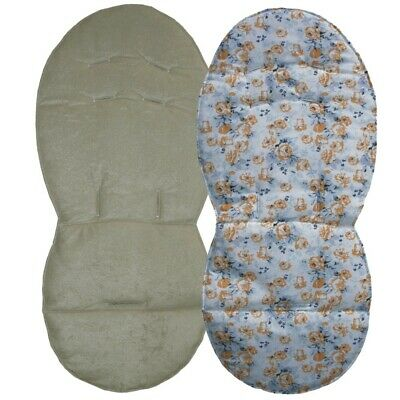 Reversible Seat Liners for Silver Cross Wayfarer Pushchairs - SAND Designs