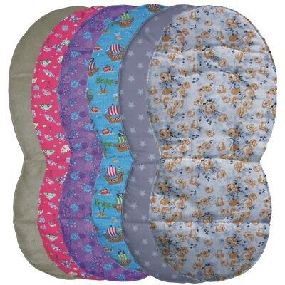 Assorted Reversible Wooly Seat Liners for Silver Cross Pioneer Pushchairs
