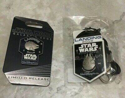 Star Wars Galaxy's Edge Disney World Exclusive Cast Member Pin & Bolo Lanyard