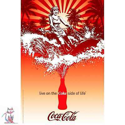 Coca-Cola Vintage Giant XL Section Wall Art Poster L105