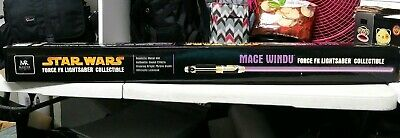 Master Replicas STAR WARS Mace Windu Force FX Lightsaber Collectible SW-206